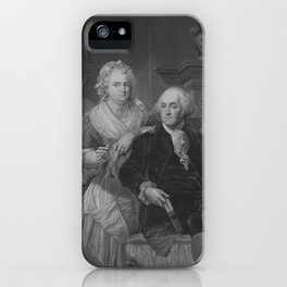 President Washington At Home iPhone Case