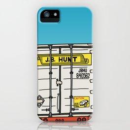 J.B. Hunt iPhone Case