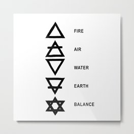 Five element  Metal Print
