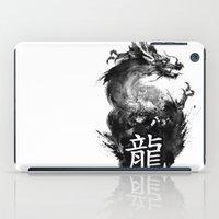 dragon iPad Cases featuring Dragon by Jonathan Keuchkarian
