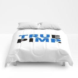 true pimp Comforters