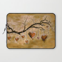 Der Liebesbaum (in Acryl) Laptop Sleeve