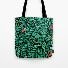Dark Hedgerow Tote Bag