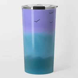 Bondi Blue Wisp Travel Mug
