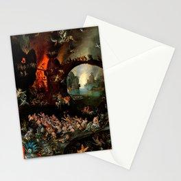 "Jan Brueghel The Elder ""Christ in Limbo"" (Riggisberg 1593) Stationery Cards"