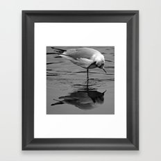 I am beautiful, no matter what they say Framed Art Print