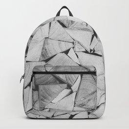 Wooden triangular bars Backpack