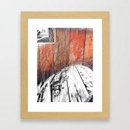 Country Life Framed Art Print