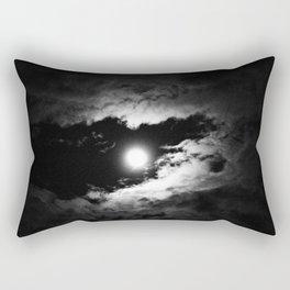 the moon after the storm Rectangular Pillow
