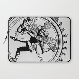 Natraj Dance - Mono Laptop Sleeve