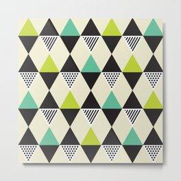 Geometric Pattern #48 (Mid-century) Metal Print