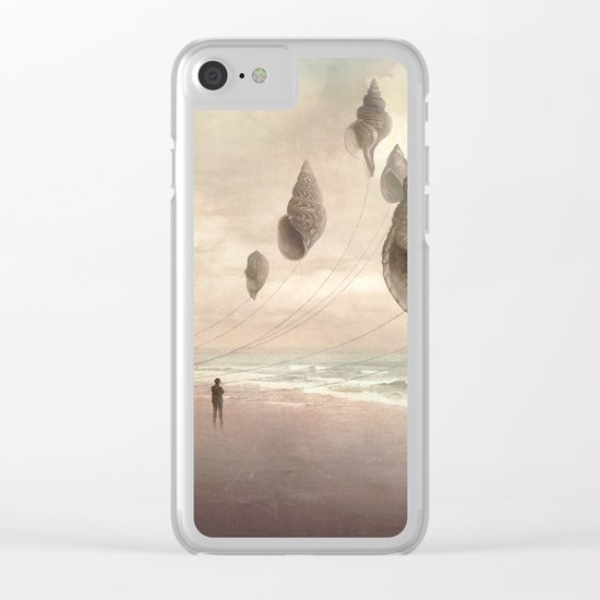Floating Giants Clear iPhone Case