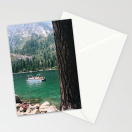 Emerald Bay from Fannett Island Stationery Cards
