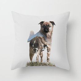 My dog Sookie Throw Pillow