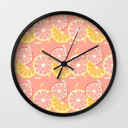 Fruit Slices Wall Clock