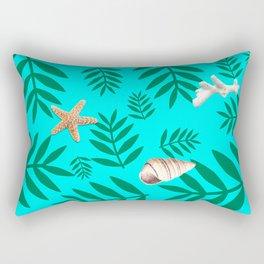 leaf coral Rectangular Pillow