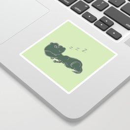 DINOSNORE Sticker