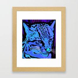 Ocelot Framed Art Print