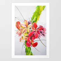 thailand Art Prints featuring Thailand by Suna Sun