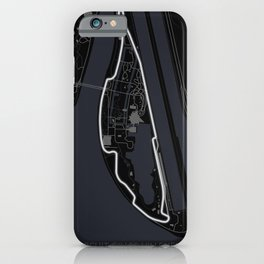 Circuit Gilles Villeneuve iPhone Case