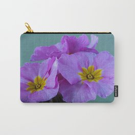 Polyanthus Pink Champagne 2 Carry-All Pouch