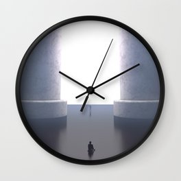Last Goodbyes Wall Clock