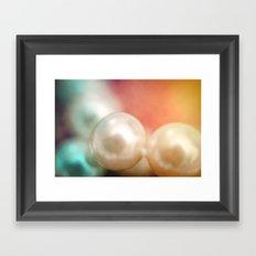 Pearl Delight Framed Art Print