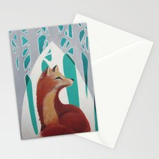 Fox Cathedral Stationery Cards