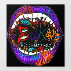 Buku Music & Art Project Canvas Print