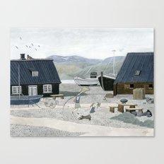 North Fishing Village Canvas Print