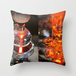 Syphon coffee Throw Pillow