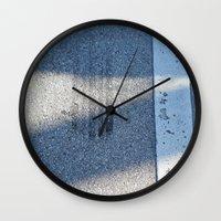 racing Wall Clocks featuring STREET RACING by Manuel Estrela 113 Art Miami