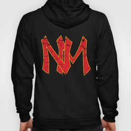 New Mexico NM Logo Southwest Red New Mexican Hoody