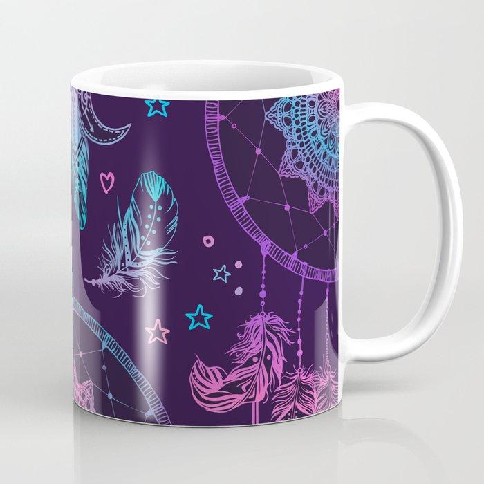 Ultra Violet Dreams, Dream Catcher Enchantment Coffee Mug