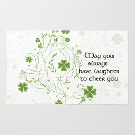St. Patrick's Day Irish Blessing Rug