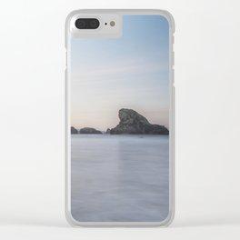 Dawn at Meyers Creek Beach Clear iPhone Case