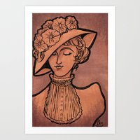 victorian Art Prints featuring Victorian by 1 of Many Laurens