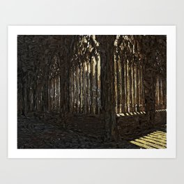 Cloister (only that) Art Print