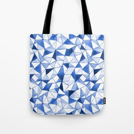 Watercolour Triangles Tote Bag