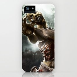 Zombie Walkers of The Living Dead iPhone Case