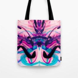 Calligraphy Rain Abstract Painting Tote Bag