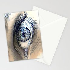 Delft Blue Eye Stationery Cards