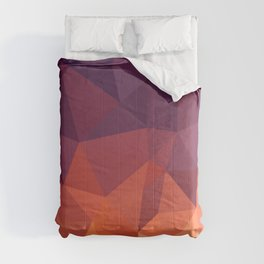 Abstract Geometric Poly #2 Comforters