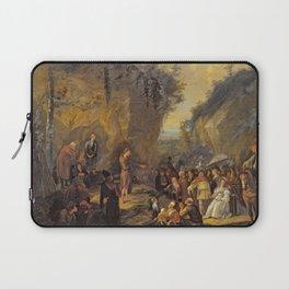 Jan Steen - John the Baptist preaching Laptop Sleeve