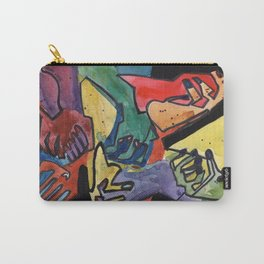 Our Hands Carry-All Pouch