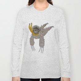 Impulsive Sloth Long Sleeve T-shirt