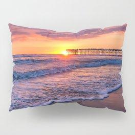 Sunset & Foamy Wave Pillow Sham
