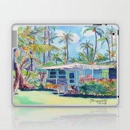 Kauai Blue Cottage 2 Laptop & iPad Skin