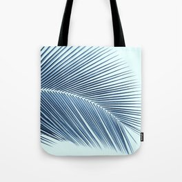 Palm leaf - oceanic Tote Bag