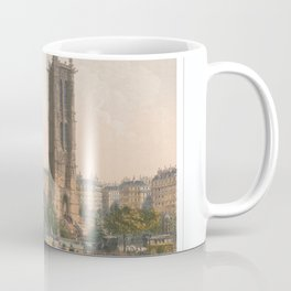 Paris art print Paris Decor office decoration vintage decor TOUR SAINT JACQUES of Paris Coffee Mug